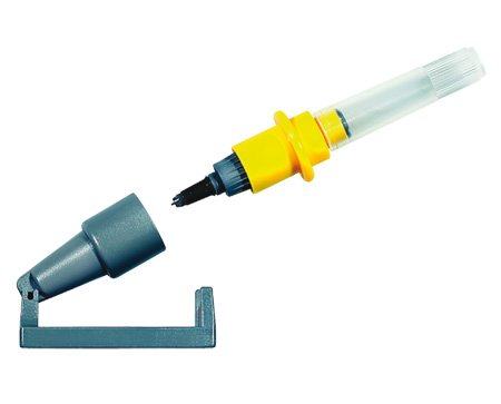 Special writing pens for plotter systems