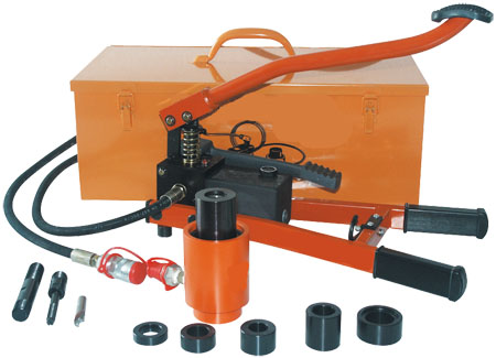 Hydraulic punch with foot pump, type SW-HF