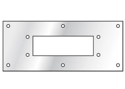 Adapter plate Ensto