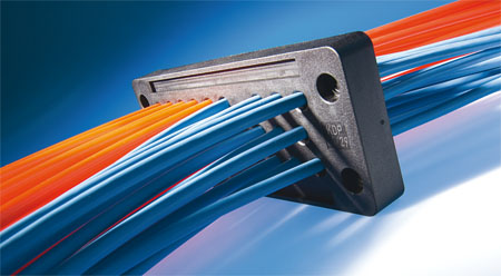 Cable entry plate KDP plastic  rectangular